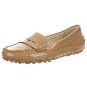 Micheal Kors patent leather loafers